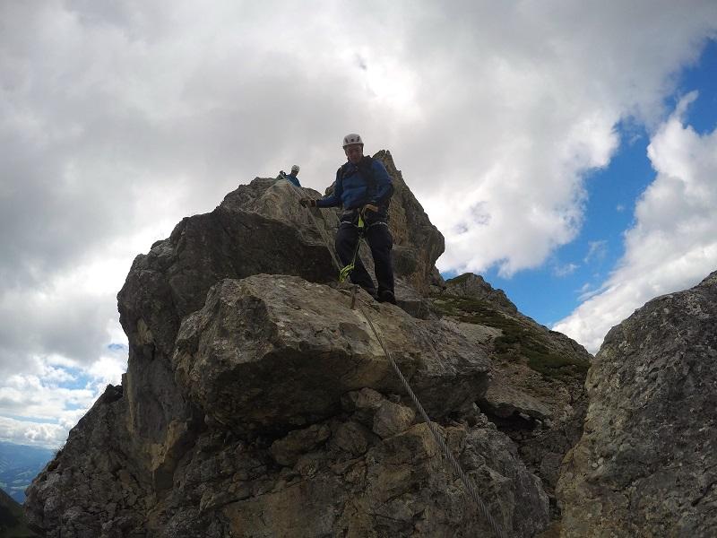 Klettersteig Norddeutschland : Fünf gipfel klettersteig rofan surf & climb