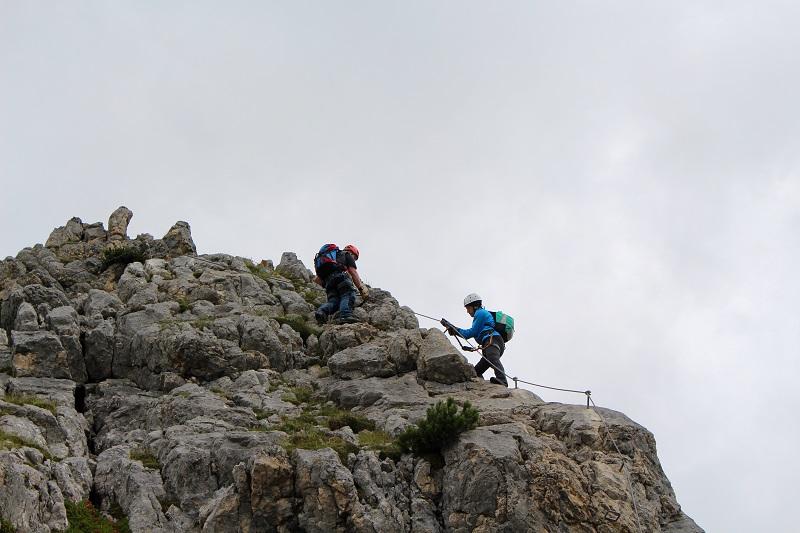 Klettersteig Norddeutschland : Fünf gipfel klettersteig rofan surf climb
