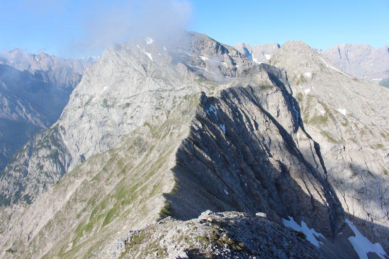 Bettlerkarspitze Schaufelspitze